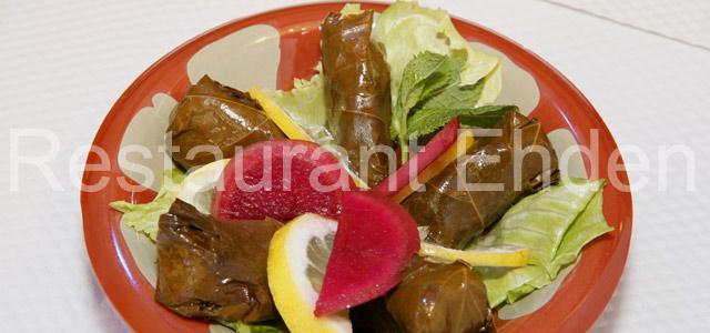 Warak enab - spécialité libanaise