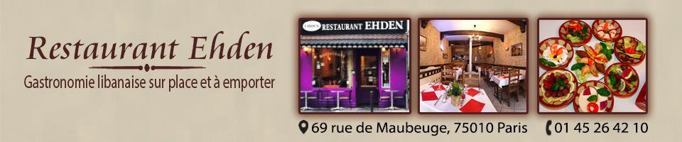 Ehden : Restaurant et traiteur libanais